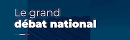 Logo du Grand débat national